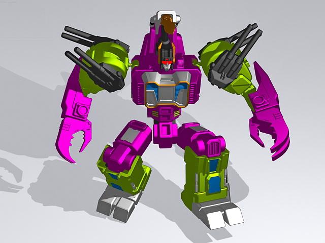 Transformers Titan 3d model