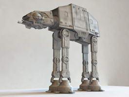 Star Wars AT-AT Walker 3d preview
