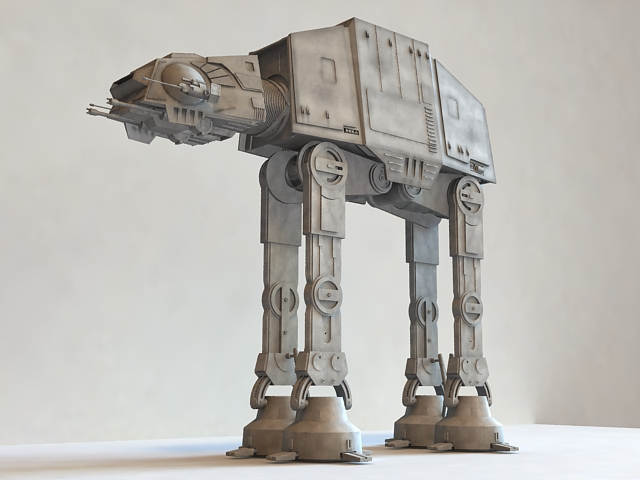Star Wars AT-AT Walker 3d model