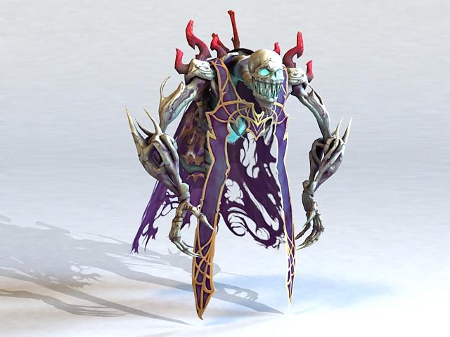 Skeleton Demon 3d model