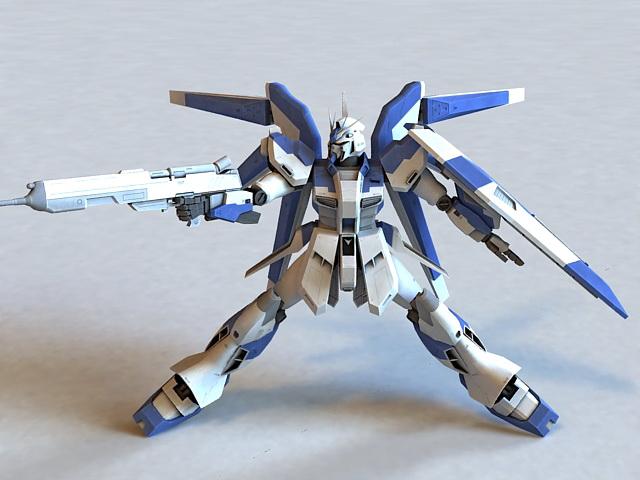 Mobile Suit Gundam 3d model
