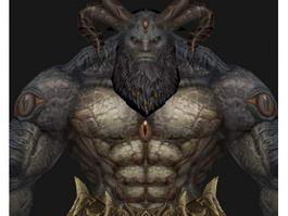 Scary Monster 3d model