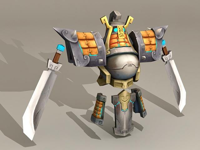 Ancient Armor & Swords 3d model
