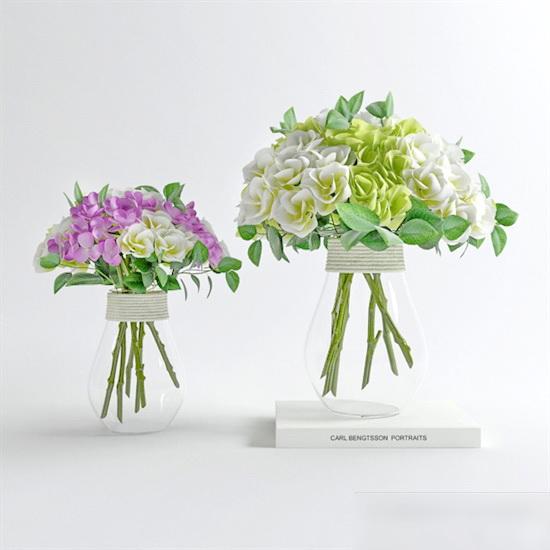 Modern Flower Arrangements 3d model
