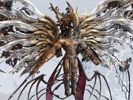 Final Fantasy Boss 3d model
