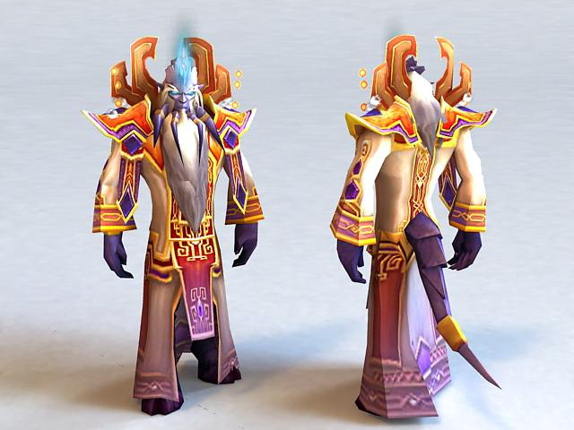 Prophet Velen 3d model