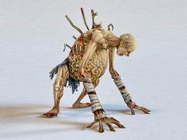 Zombie Mummy 3d model