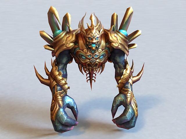 Scary Demon 3d model