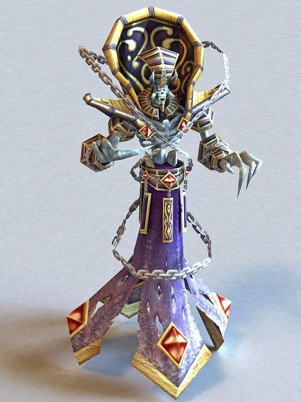 warcraft kelthuzad 3d model 3ds max files free download