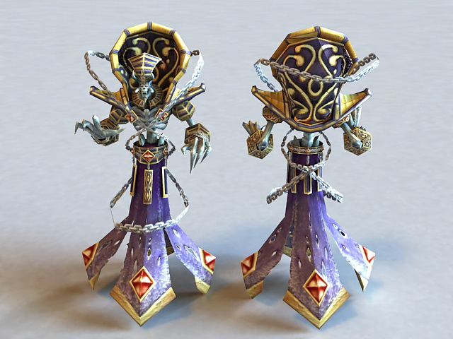Warcraft KelThuzad 3d model