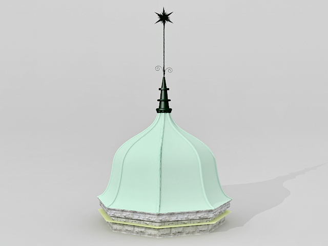 Italian Renaissance Dome 3d model