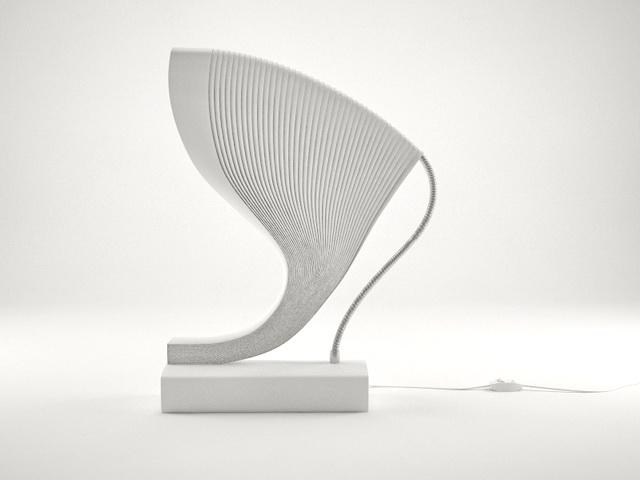 Minimalist Table Lamp 3d model
