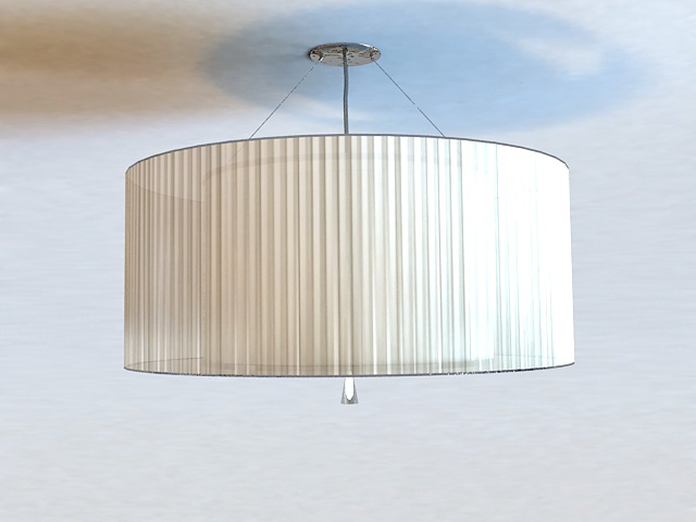 Semi Flush Ceiling Light 3d model