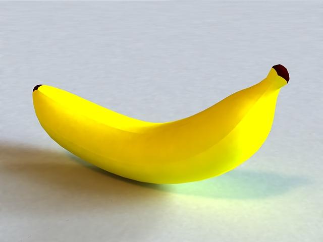 Large Banana 3d model