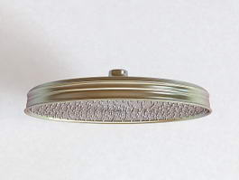 Plate Overhead Shower 3d model