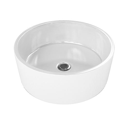 Round Countertop Basin 3d model