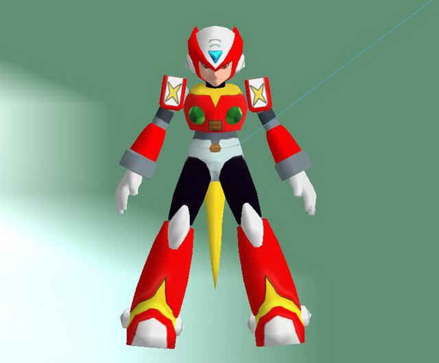 Proto Man 3d model