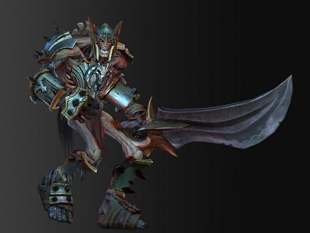 Medieval Skeleton Warrior 3d model