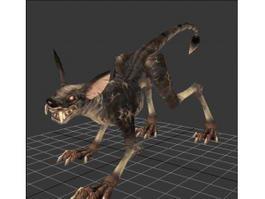 Monster Dog 3d model