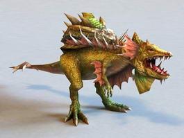 Monster Dinosaur 3d model