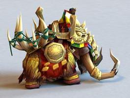 War Mammoth 3d model