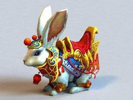 War Rabbit 3d model