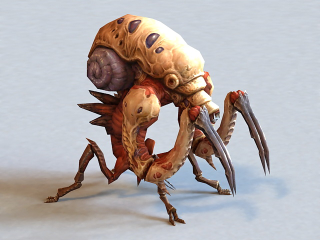 Alien Warrior Bug 3d model