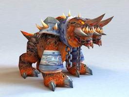 Core Hound Beast 3d model