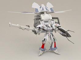 BattleMech Concept 3d model