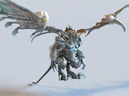 Cool Dragons Monster 3d model