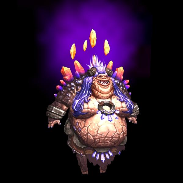 World of Warcraft Therazane 3d model