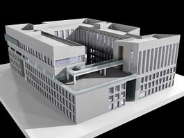 Business Office Buildings 3d model