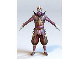 Dragon Assassin 3d model