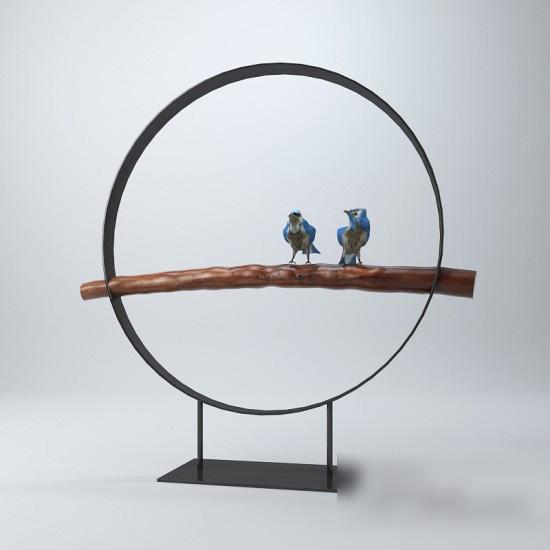 Bird Decorations 3d model