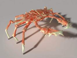 Spider Crab 3d model