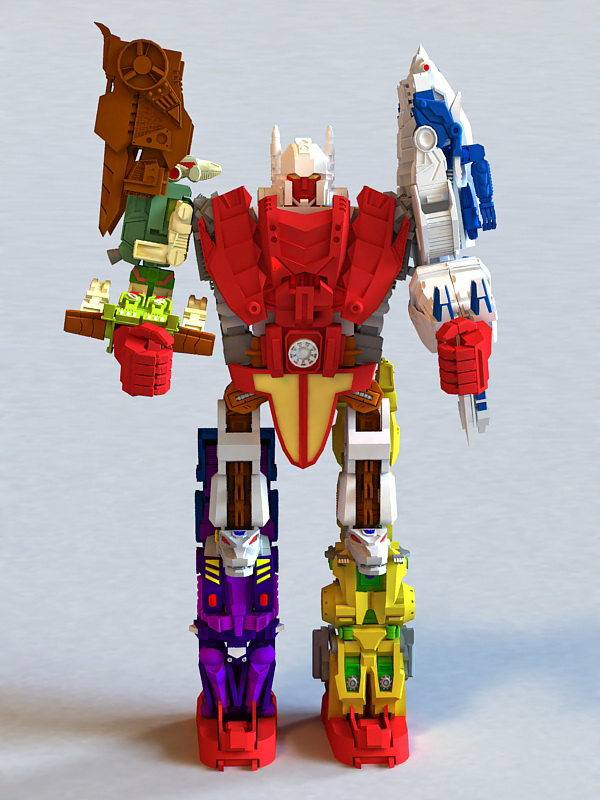 Transformers Animated 3d model