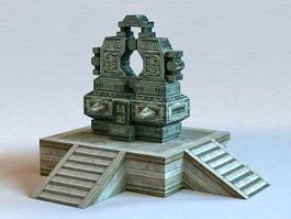 Sacrificial Altar 3d model