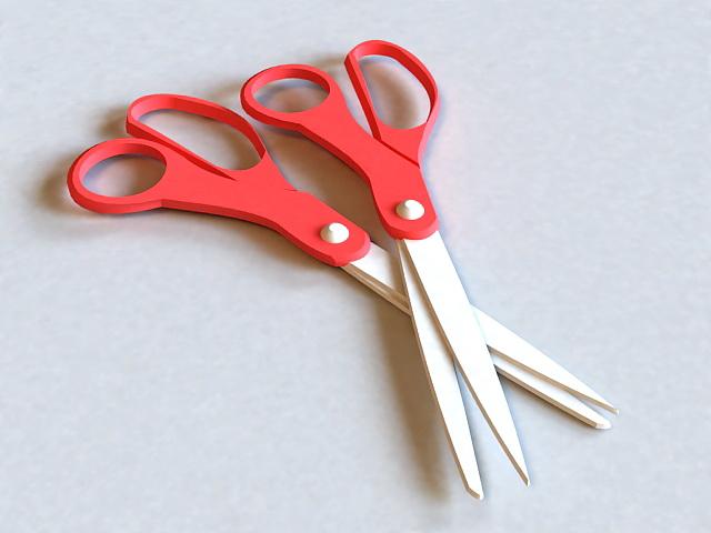 Sewing Scissors 3d model