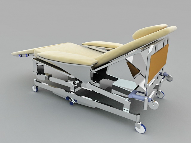 Medical Hospital Bed 3d Model 3ds Max Files Free Download