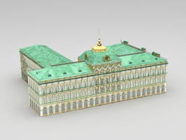 Great Kremlin Palace 3d model