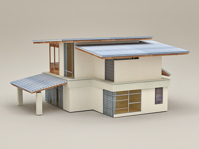 Holiday House 3d model