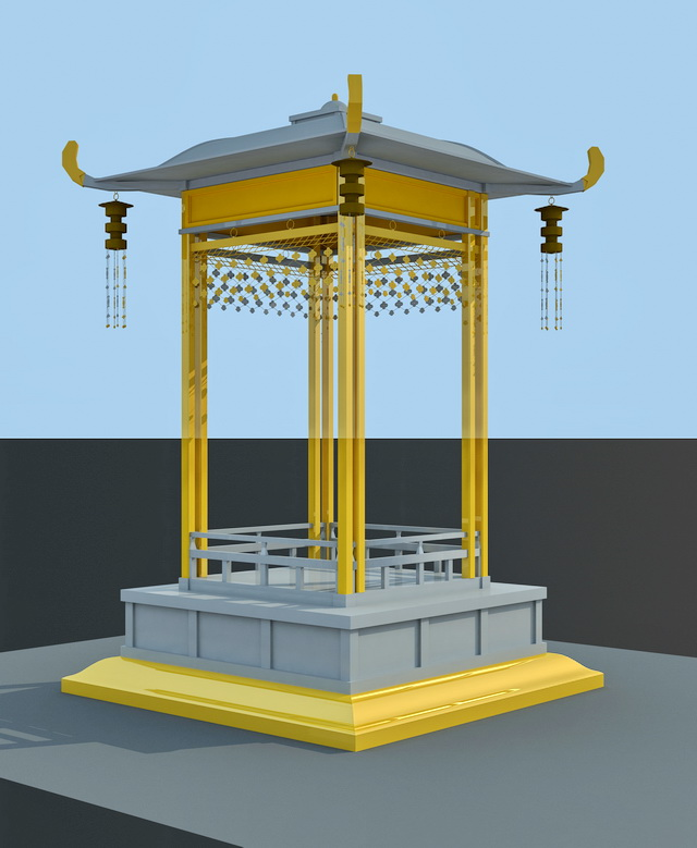 Small Pagoda 3d model