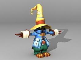 Anime Evil Clown 3d model