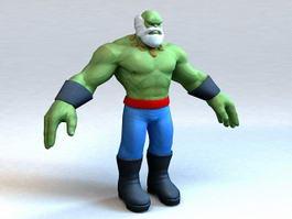 Maestro Hulk 3d model