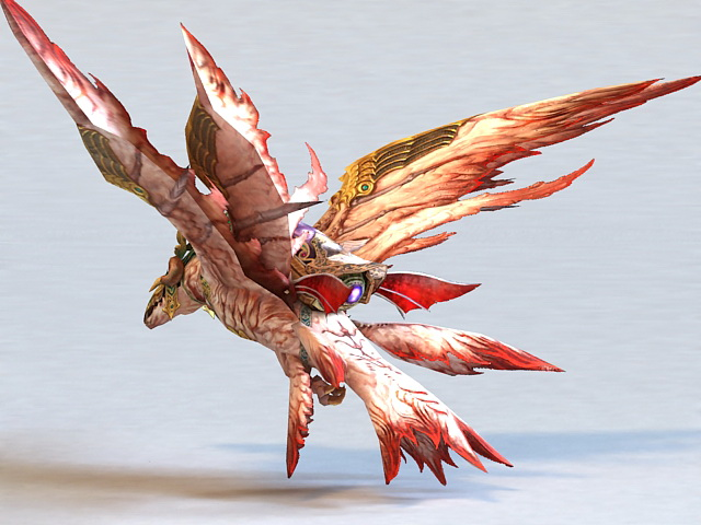 Thunderbird Mythical Creature 3d model 3ds Max files free ... - photo#35