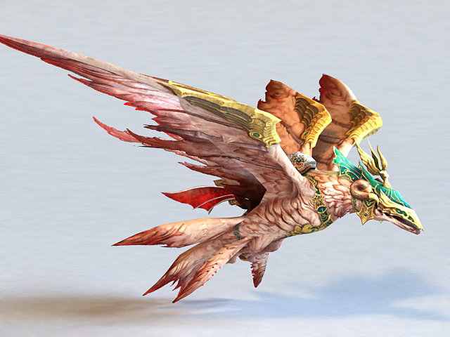 Thunderbird Mythical Creature 3d model 3ds Max files free ... - photo#47