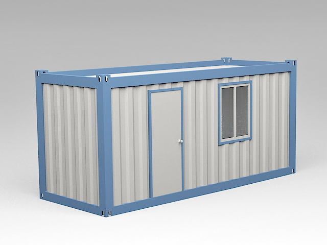 Small Container Home 3d model