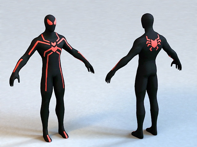 Big Time Spider-Man 3d model