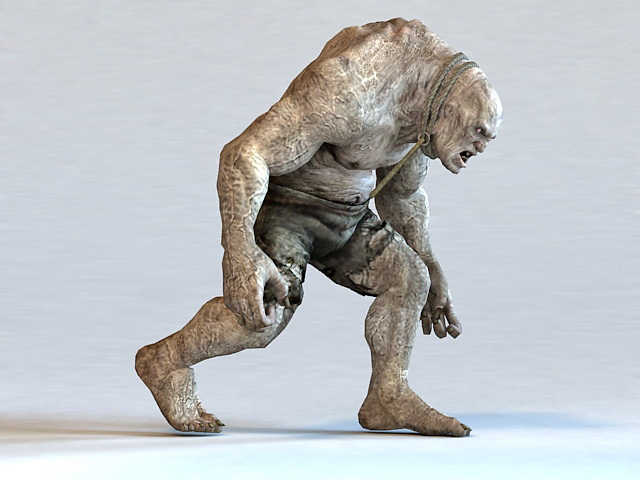 Giant Zombie Monster 3d model