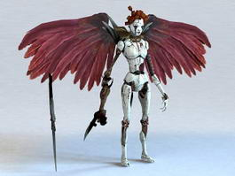 Scary Harpy 3d model